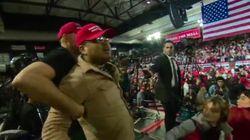 BBC Cameraman Attacked At Trump