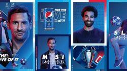 Quand Messi et Salah se battent pour une canette