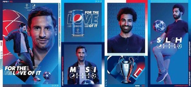 Lionel Messi et Mohammed Salah réunis dans une publicité pour