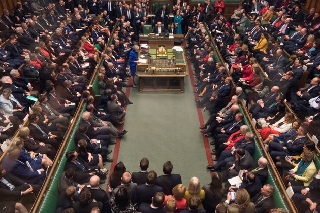 The House of Commons in the wake of the confidence vote in the government tabled by Jeremy