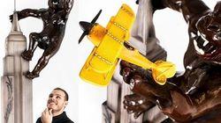 Αυτό είναι δώρο για του Αγίου Βαλεντίνου: Δίμετρος σοκολατένιος Κινγκ