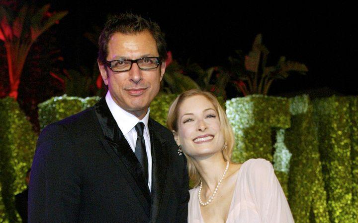 Παλαιότερη φωτογραφία τηςCatherine Wreford, όταν ήταν αρραβωνιασμένη με τον ηθοποιό Jeff Goldblum.