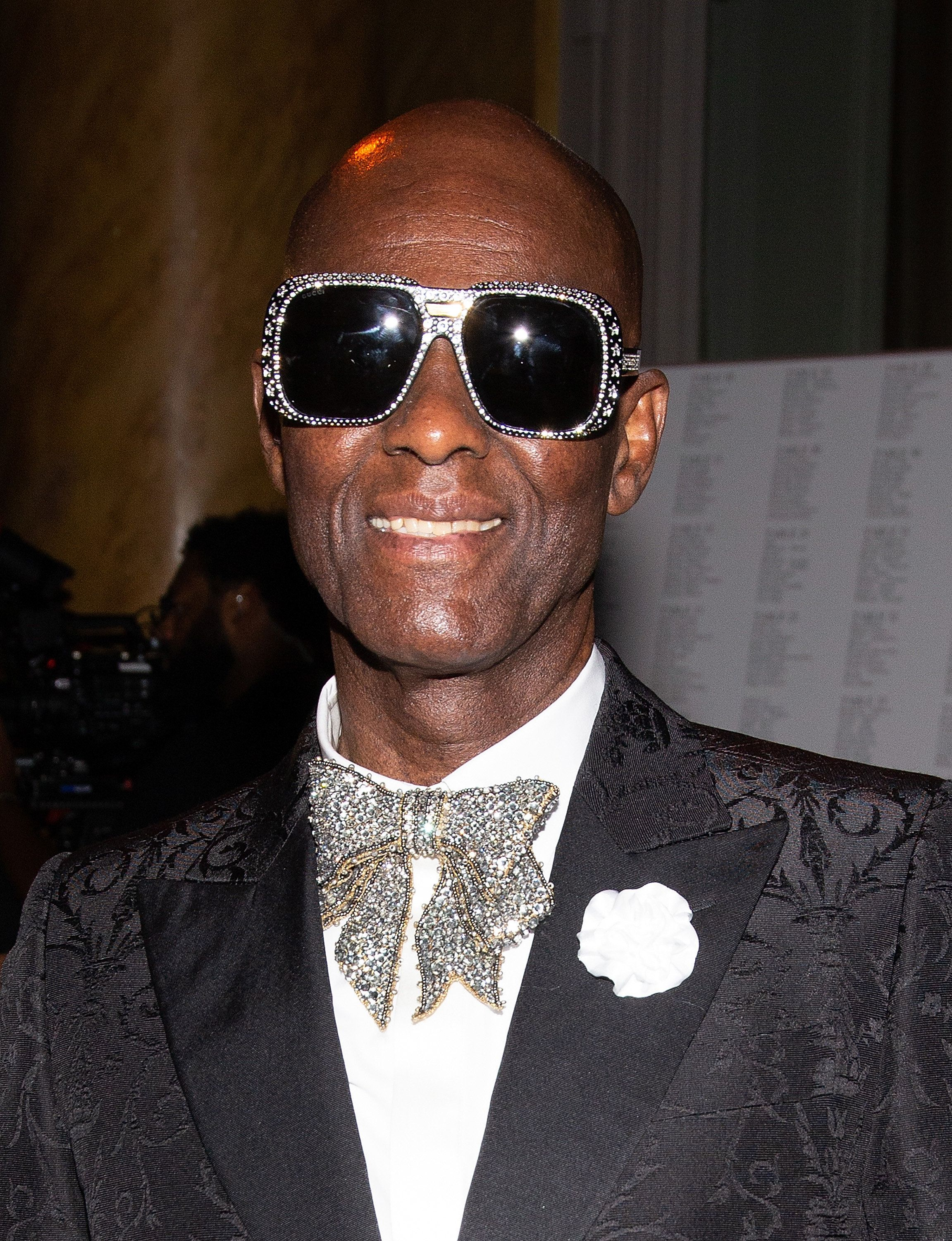 NEW YORK, NY - SEPTEMBER 04:  Dapper Dan attends Harlem's Fashion Row - Front Row during New York Fashion Week - September 2018  at Capitale on September 4, 2018 in New York City.  (Photo by Paul Zimmerman/WireImage)