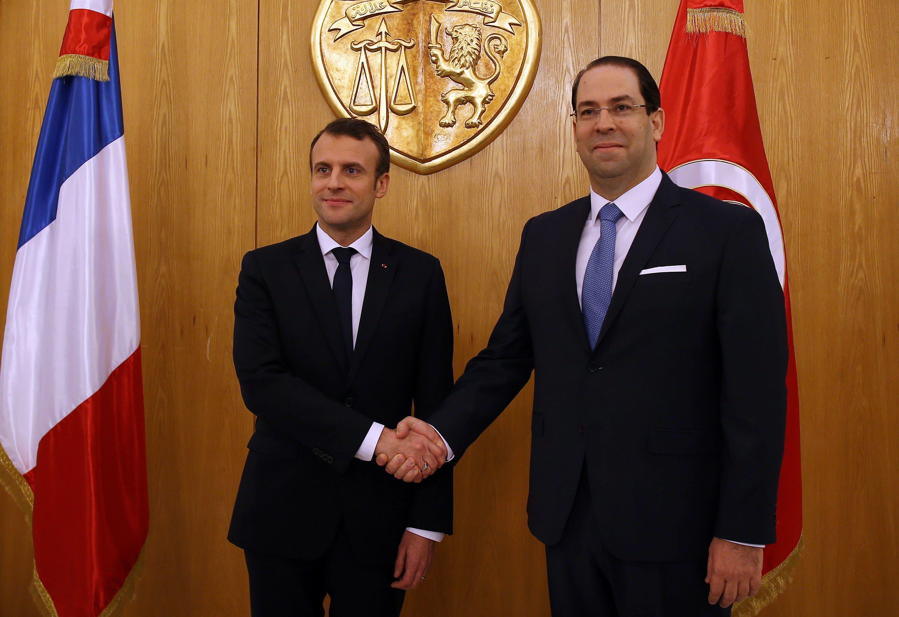 Youssef Chahed en visite officielle à Paris: Six accords de financement seront