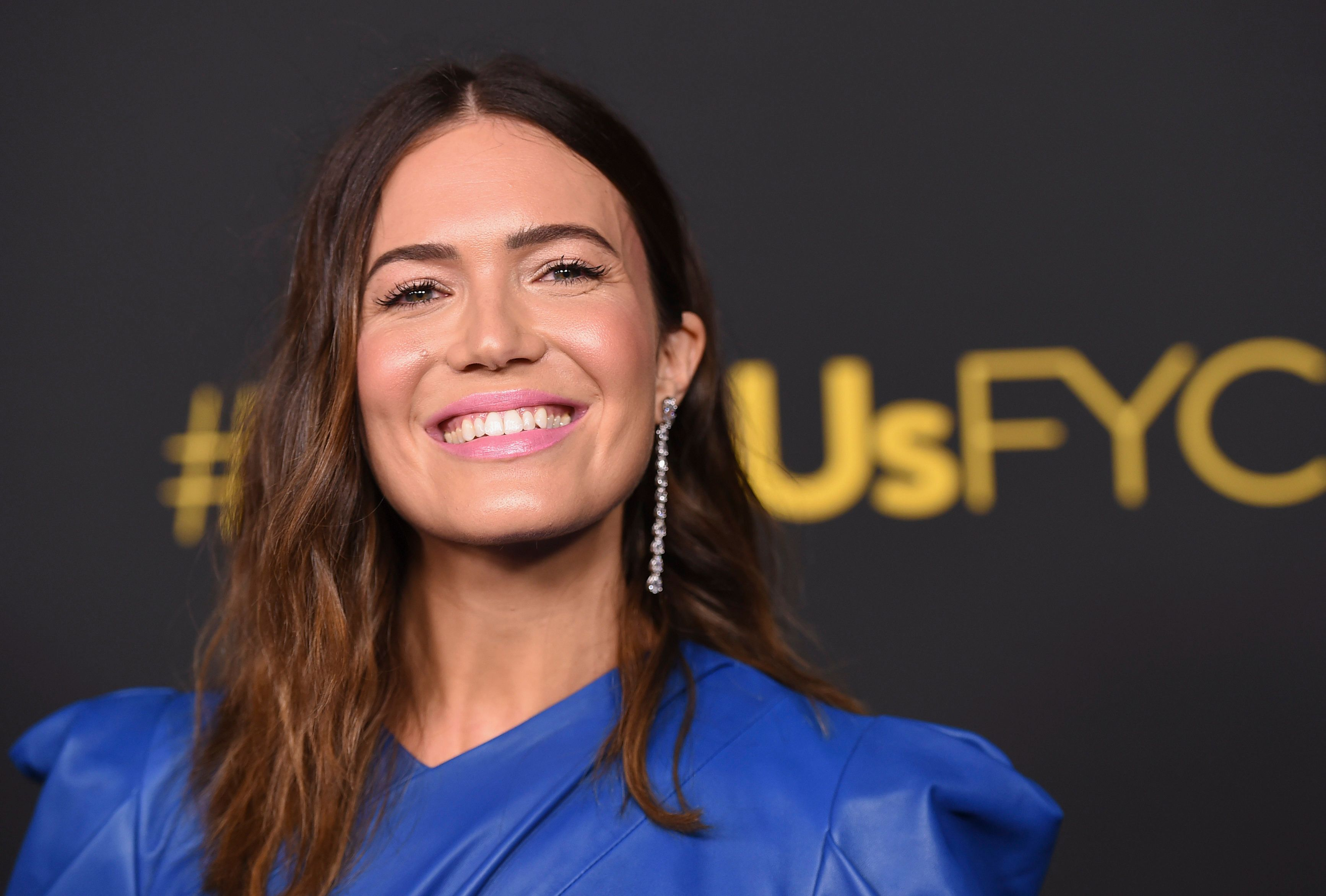 "Mandy Moore arrives at An Evening With ""This Is Us"" at Paramount Studios on Monday, Aug. 13, 2018, in Los Angeles. (Photo by Jordan Strauss/Invision/AP)"
