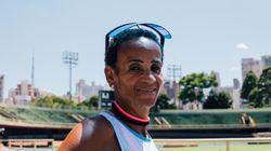 Ela morou 20 anos nas ruas de São Paulo e hoje é maratonista de