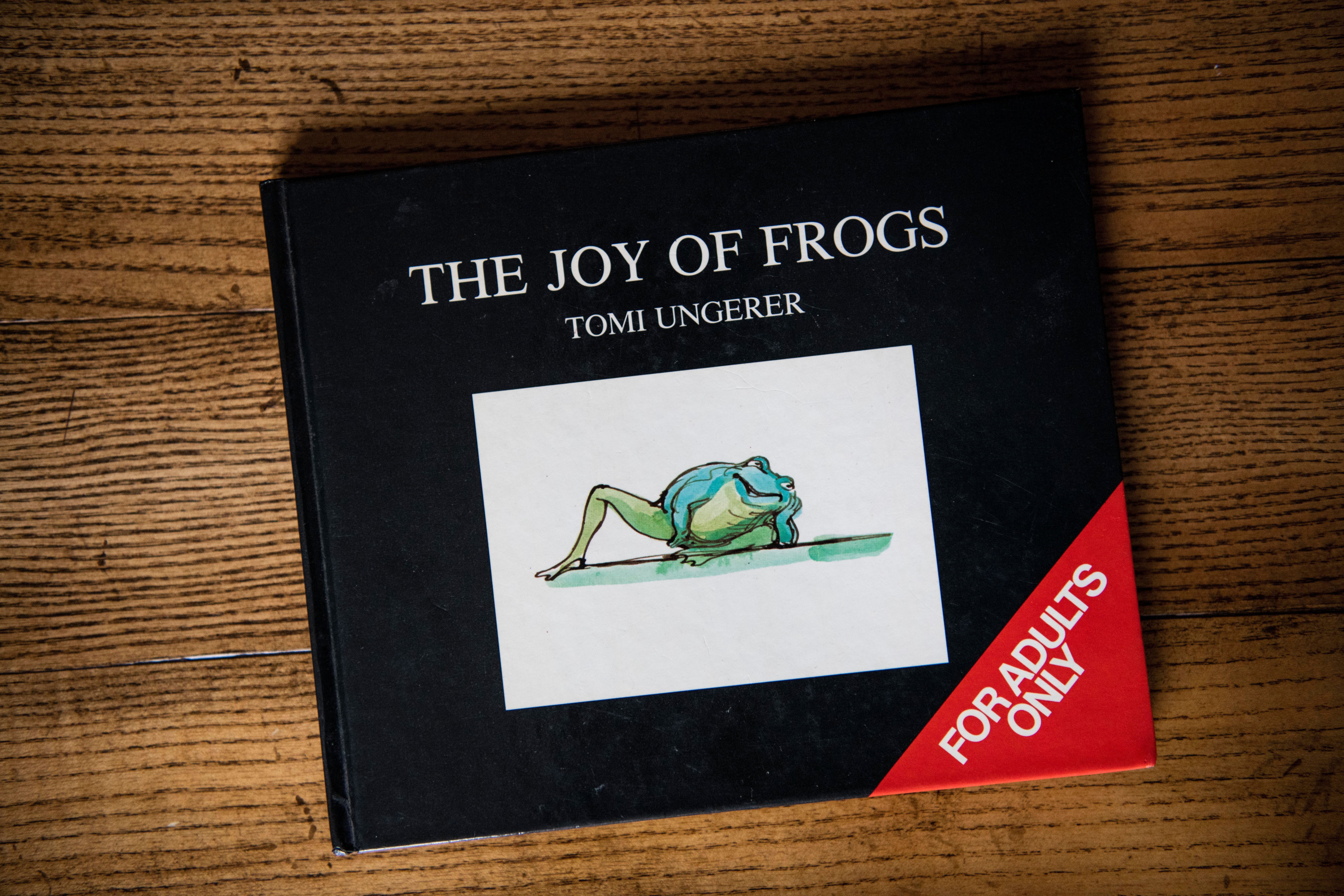 Tomi Ungerer Has Died, But His Frog-Centric Sex Bible Will Live