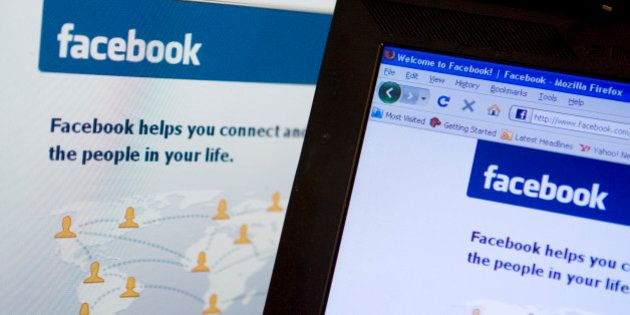 UNITED STATES - FEBRUARY 18: The Facebook homepage is displayed on a computer monitor in New York, U.S.,...