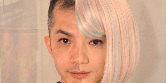 半分だけ女装した樽井寿夫さん