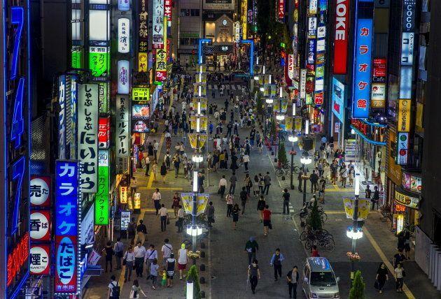 新宿・歌舞伎町のイメージ写真