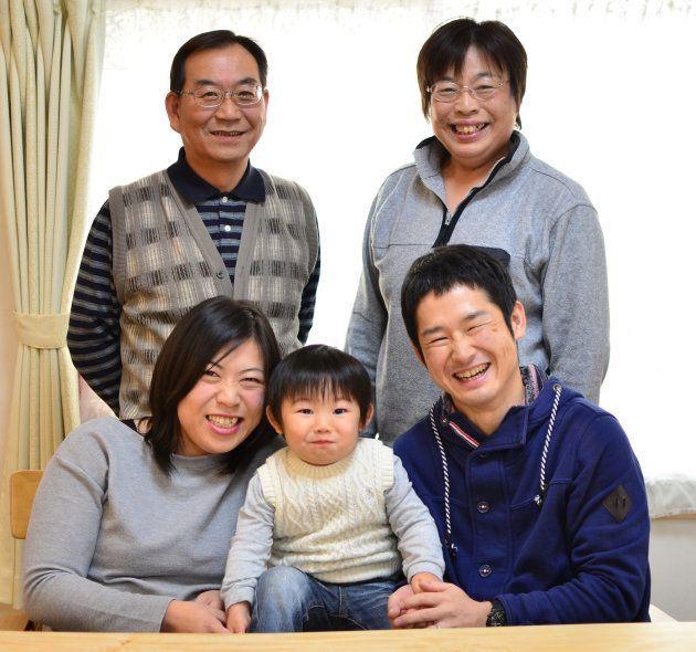 「うちは5人で一つの家族」。中原さん夫婦はそう口をそろえる