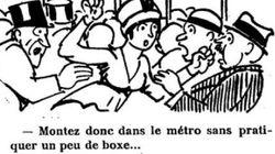 100年前、すでにパリには痴漢がいた。