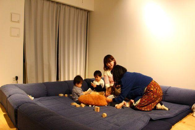 通称「子ども部屋」。取材中は筆者の子ども一緒に遊んでいた。