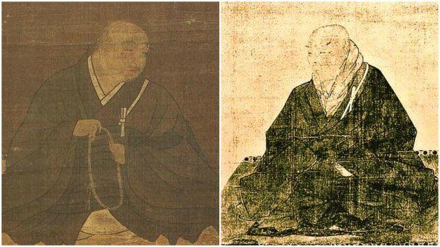 法然(左)と親鸞