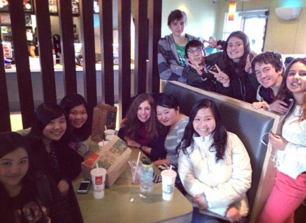留学中は色んな国からやってきた友人たちと遊ぶのが楽しみだった