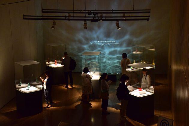夜の美術館は人が少なかったのでゆっくり作品と向き合えた