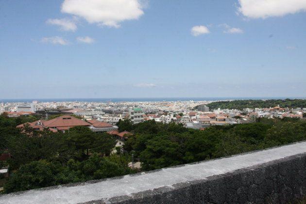 首里城の展望台