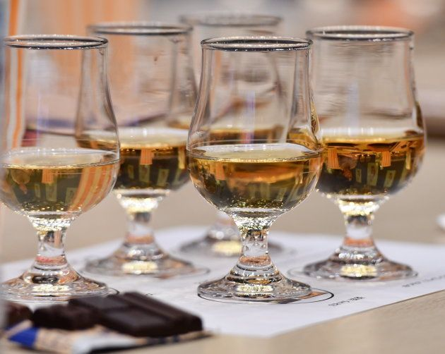 ウイスキーとチョコレートは相性がいいとされる