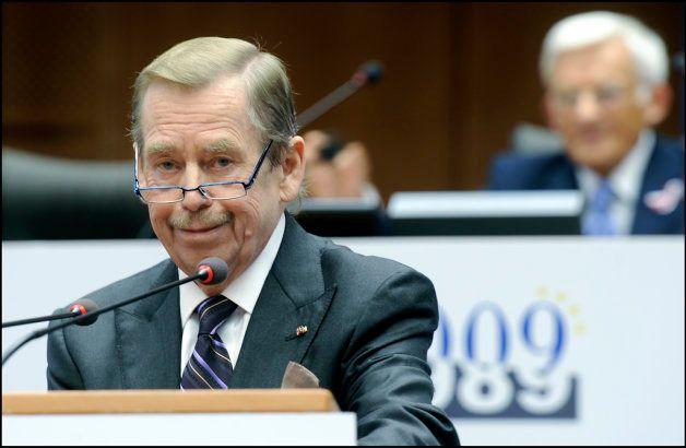 チェコの初代大統領ヴァーツラフ・ハヴェル氏。