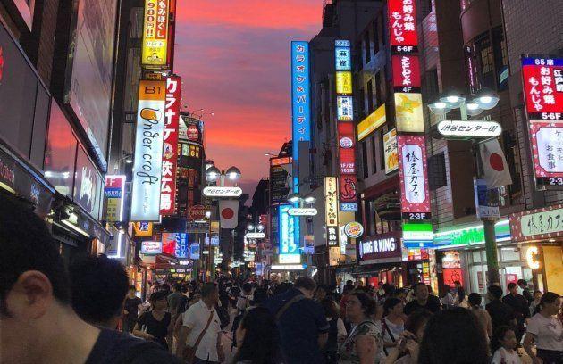 渋谷のセンター街