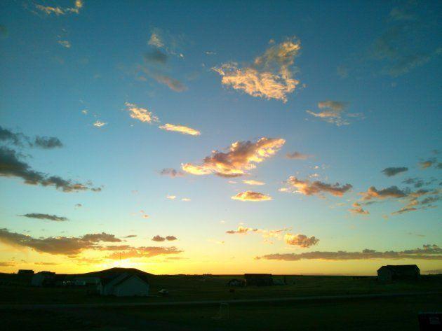 ワイオミングで撮った綺麗な空