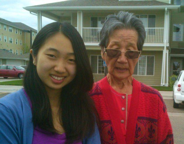 伯母が亡くなる数か月前に最後に一緒に撮った