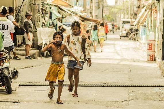 スラムの子どもの前向きなエネルギーを伝えたい
