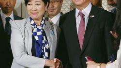 小池百合子氏、衆院選への不出馬を強調「ラブコールあったが出ない」