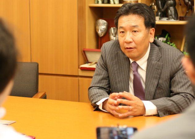二大政党制は幻だったのか。民進党が解体された今、枝野幸男氏に聞いた