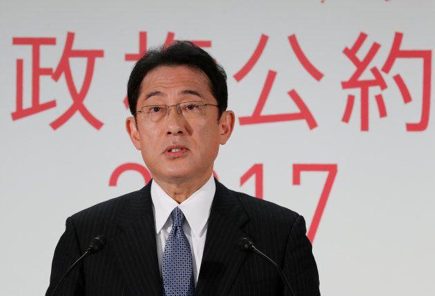 自民党の岸田文雄政調会長。4人の首相を輩出した名門派閥「宏池会」を率いる。安倍首相とは当選同期で、安倍内閣でも外相などを務めたが、自らを「私はリベラル、ハト派」と語る。