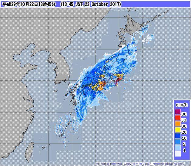 台風できょう開票できず 投票箱が運ぶ船が欠航 山口・萩市