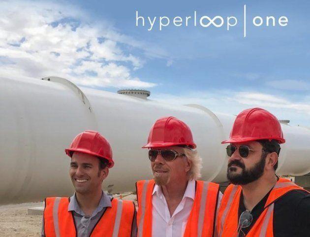 高速輸送システム「ハイパーループワン」、ヴァージングループ入り