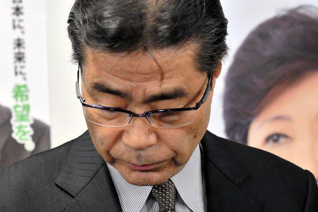 落選した希望の党・若狭勝氏 2017年衆院選 東京10区