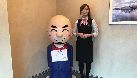 三浦孝司社長のマスコットキャラクター