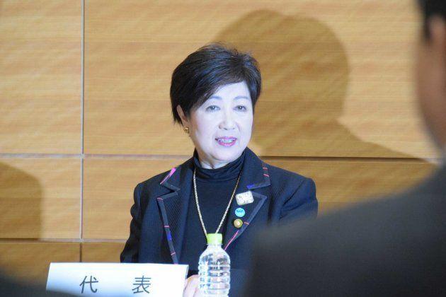 小池百合子知事、希望の党代表の辞任を表明 何を語った?(発言詳報)