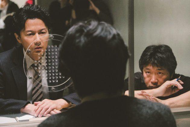「三度目の殺人」撮影現場での是枝監督