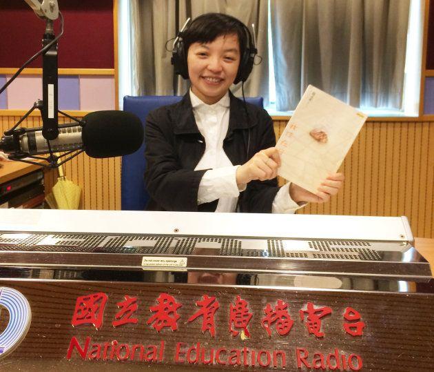 2017年3月、『台湾生まれ 日本語育ち』繁体字中文版発売刊行イベントで台北のラジオ局「教育広播電台」に招かれて。