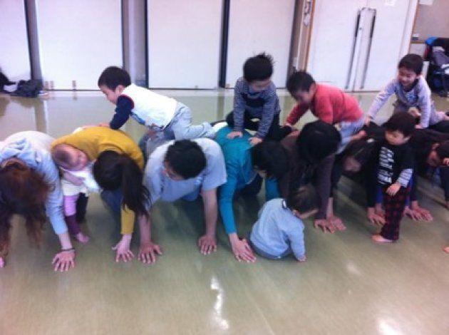 子供向けのクラスにおけるシステマのトレーニング