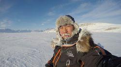 冒険家・荻田泰永さん、南極に向け出発