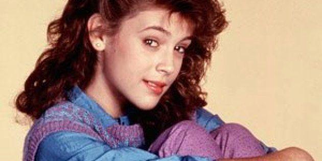 アリッサ・ミラノさんの14歳の時の写真(本人がTwitterに投稿)