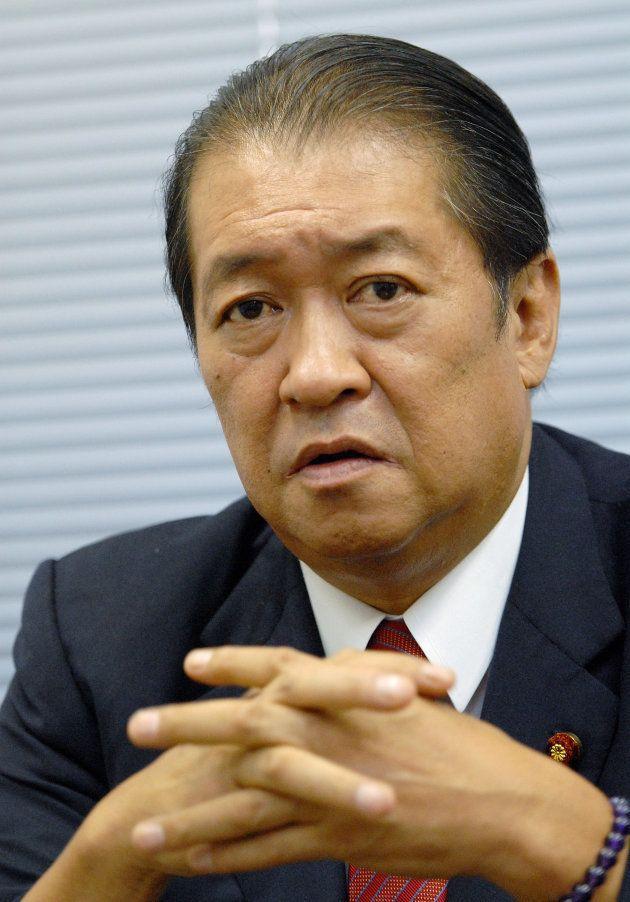 鳩山邦夫氏