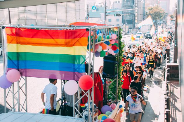 虹とともに。九州レインボープライド2017 子どもたちが集まる場所になる