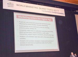 Analytics 2.0, World Marketing Summit Tokyo 2017, Philip