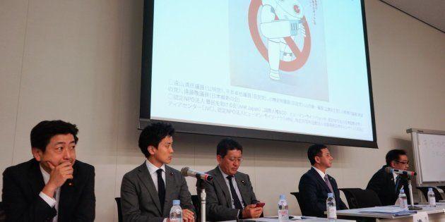 「殺人AI兵器にNOを」―超党派の国会議員が議論