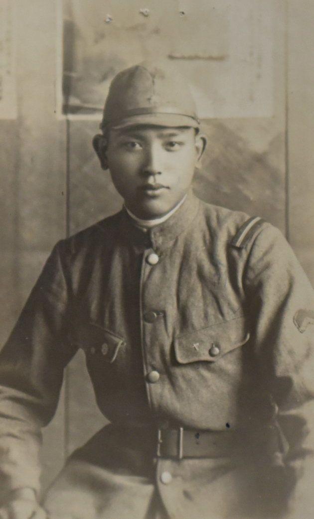 生前の吉岡力さん