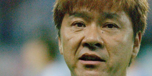 Hideki Saijo sang National Anthem of Japan at opening ceremony (Photo by Jun