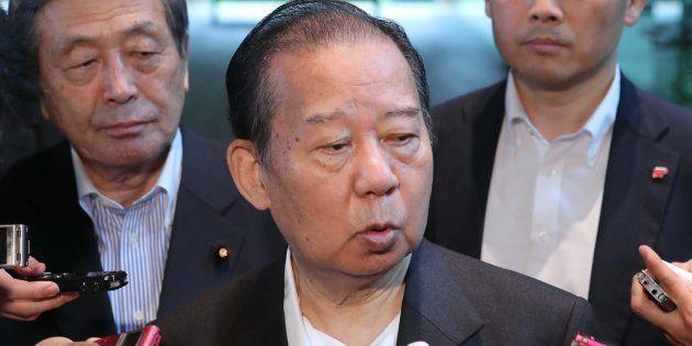 (写真はイメージ)報道陣の取材に応じる自民党の二階俊博幹事長=首相官邸 撮影日:2018年06月18日