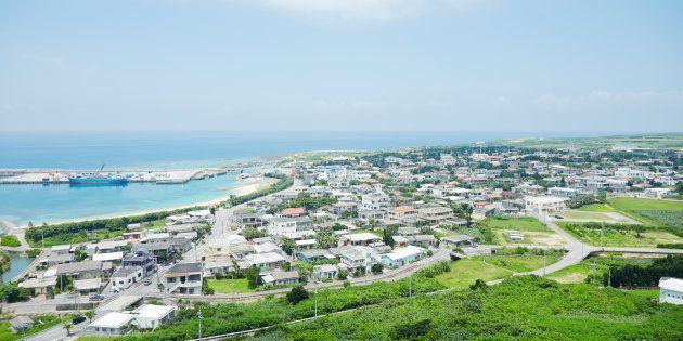 与那国島の風景