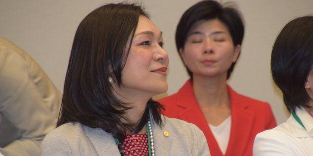 新宿区議選に立候補を表明している依田花蓮さん