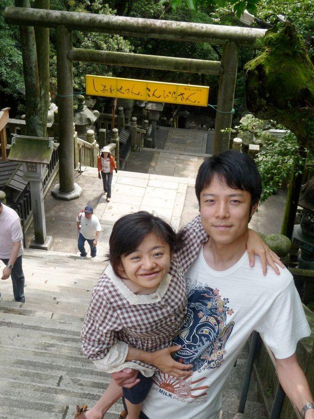 2010年:当時住んでいた香川県の金毘羅山にて。